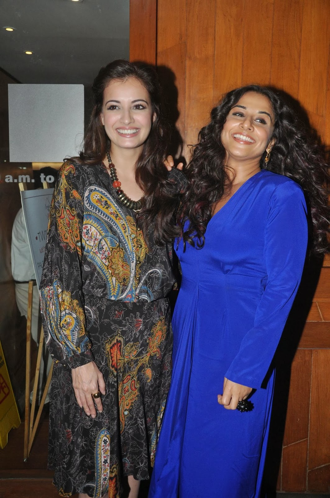 Dia Mirza & Vidya Balan @ Wrap-up party of 'Bobby Jasoos'