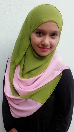 Model Contest SEO, fesyen terkini, shawl chantek menawan, inner magic
