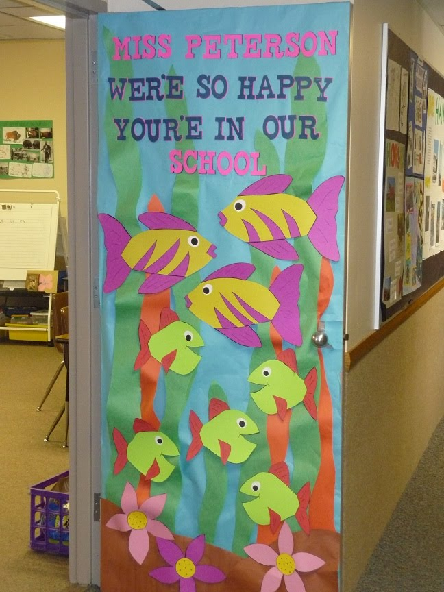 Teacher appreciation door decorating ideas southland for Back to school decoration ideas