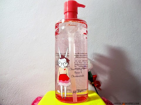 Sponsored Review: Cyber colors Rose & Chamomile Cleansing Oil + Gentle Eye Make Up Remover x Fifi Lapin