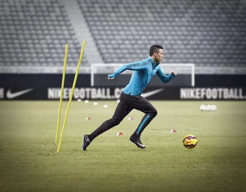 Nike Mercurial Superfly for Cristiano Ronaldo with black and white