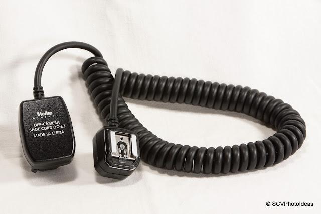Meike OE-C3 Off-Camera Shoe Cord - intro