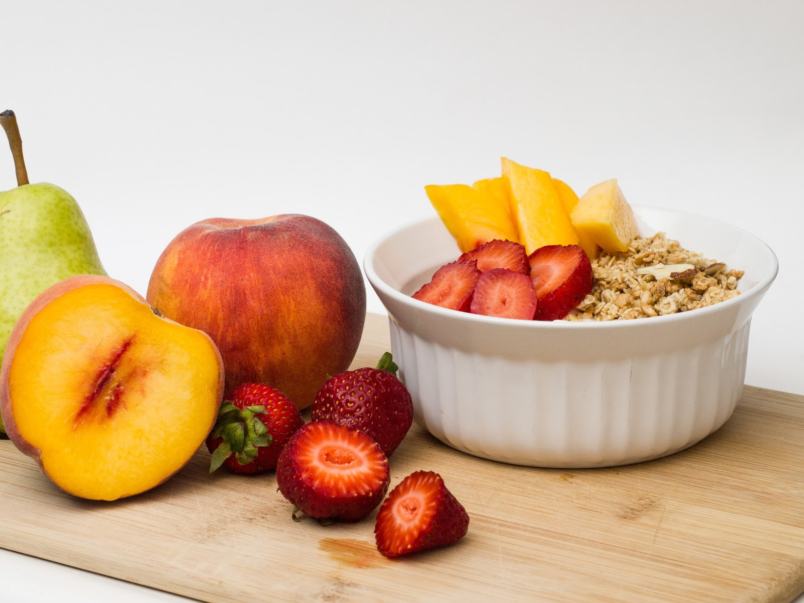 Granola and fruit - healthy lifestyle - Benenden Risk By Region Tool - motherdistracted.co.uk