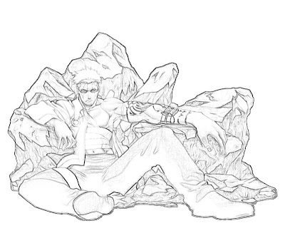 Scar Coloring Pages