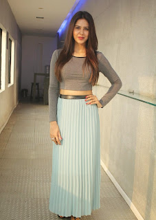 Actress Sonam Bajwa Picture Gallery at Kappal Press Meet  2B9.jpg