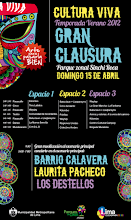 CULTURA VIVA - CLAUSURA 2012