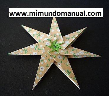 Estrellas de papel decorativas mimundomanual - Estrellas de papel ...