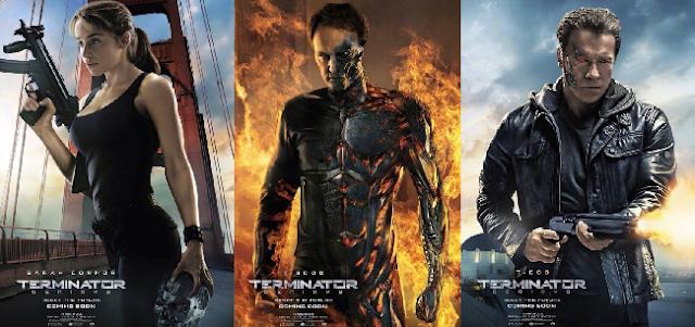 Vejas os pôsteres inéditos de O Exterminador do Futuro: Gênesis, com Schwarzenegger e Emilia Clarke