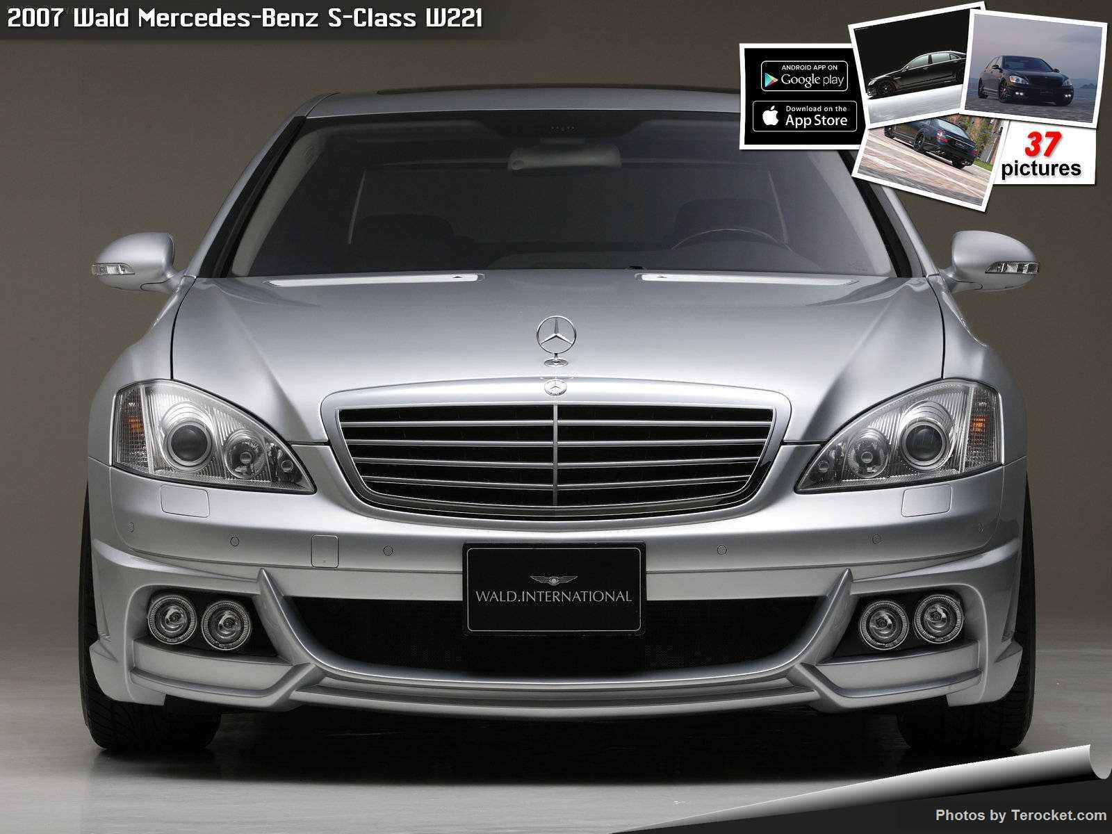 Hình ảnh xe độ Wald Mercedes-Benz S-Class W221 2007 & nội ngoại thất