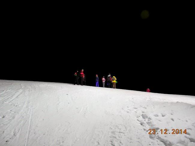 ski pe nocturna la Straja