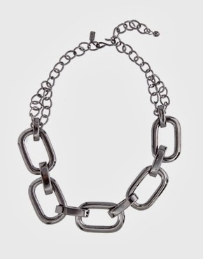 Kenneth Jay Lane - Chunky Silver Necklace