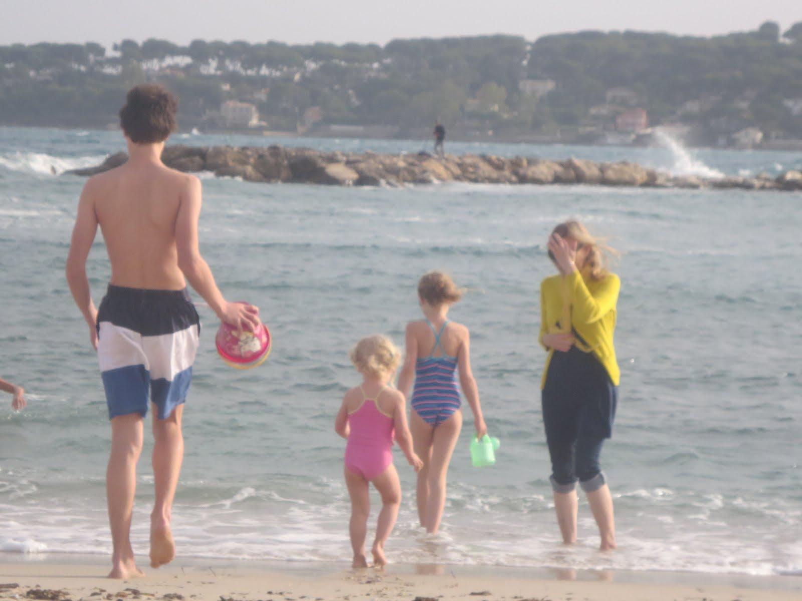 Matthieu, Violette, Agathe... et moi