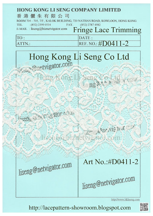 Fringe Lace Trimming Manufacturer and Supplier - Hong Kong Li Seng Co Ltd
