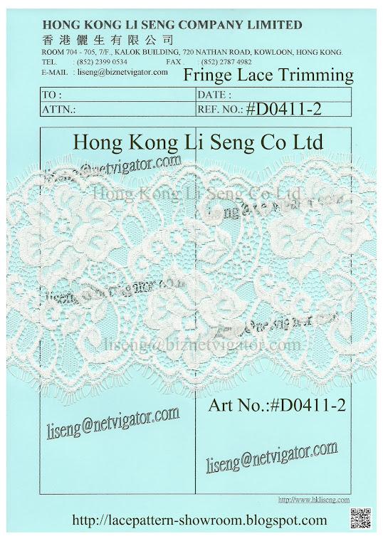 Fringe Lace Trimming Manufacturer and Supplier - Hong Kong Li Seng Co Ltd