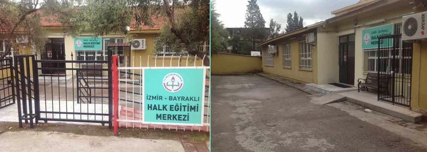 Izmir bayrakli halk eğitim merkezi kurslari