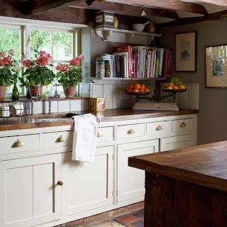 Benim k k cennetim r n r n mutfaklar for Retro kitchen ideas uk