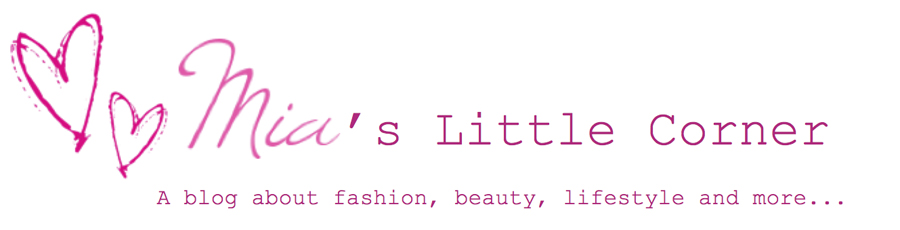 Mia's Little Corner - Swiss Beauty, Lifestyle and Fashion Blog