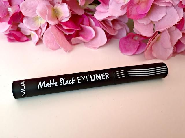 MUA matte effect eyeliner