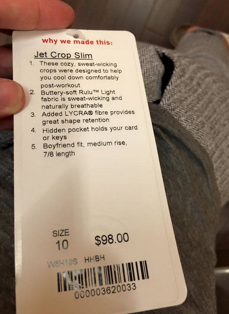 Jet Crop Slim