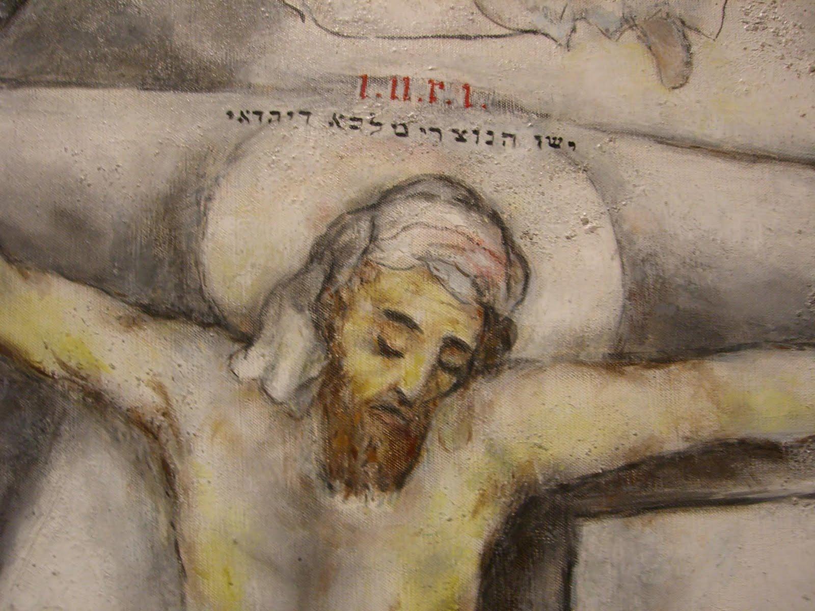 chantblog: April 2011 Marc Chagall White Crucifixion Poem