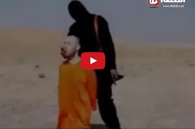 داعش تذبح الرهينة الاميركي الثاني ستيفن سوتلوف ( +18 )