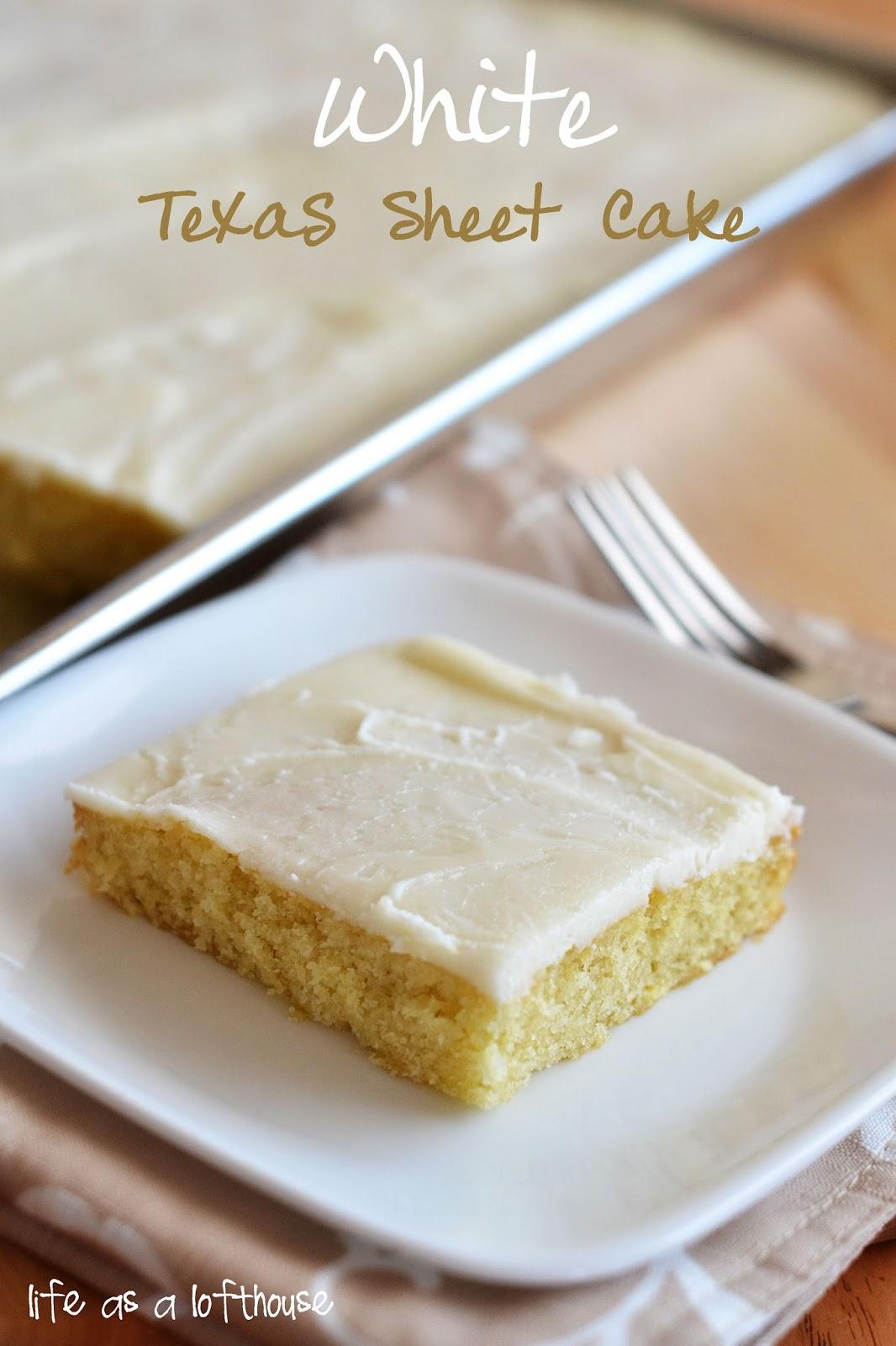 White Texas Sheet Cake Cookies