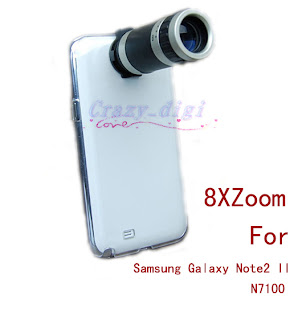 8X Zoom Phone Camera Lens Telescope With Case For Samsung Galaxy Note2 II N7100