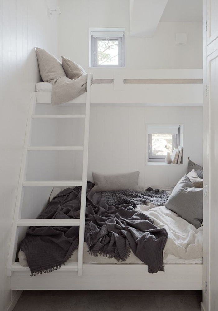 bulid in bunk bed