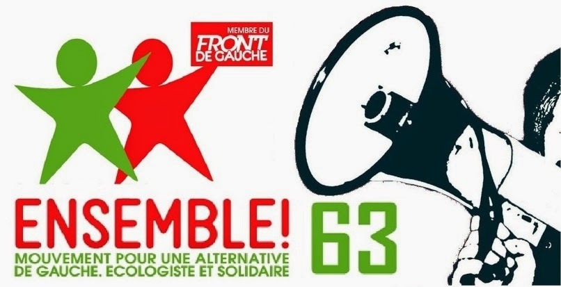 Ensemble 63, la Gauche Anticapitaliste !