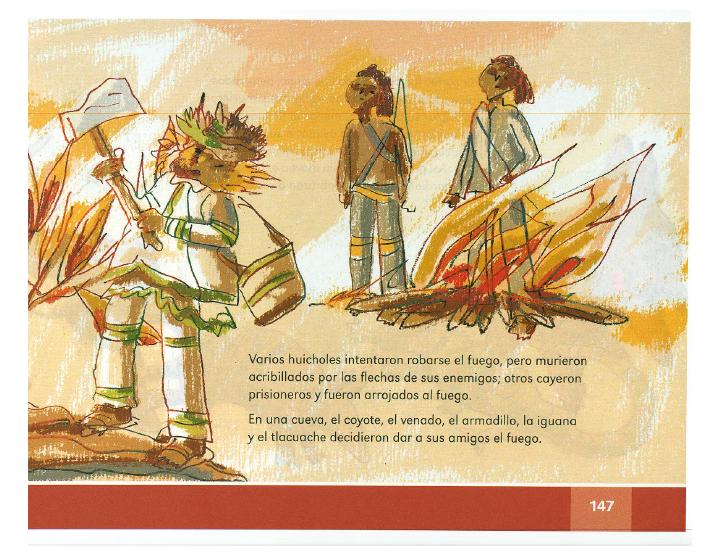 La leyenda del fuego español lecturas 2do bloque 5/2014-2015