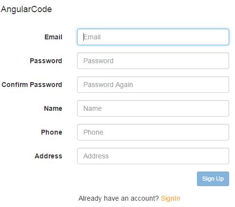 Login Register System Dengan Angular JS PHP Slim MySQL