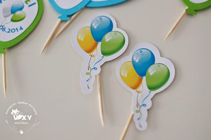 etichete prajituri tema baloabe,petrecere tematica baloane, pertrecere personalizata, stegulete prajituri personalizate, etichete prajituri tema baloane, petreceri deosebite, petreceri speciale, petreceri copii, petreceri tematice, papetarie personalizata