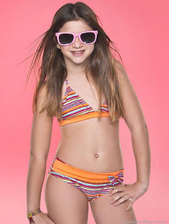 moda verano 2014 bikinis niñas ailyke