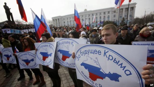 Krimea lakukan referendum untuk gabung dengan Rusia