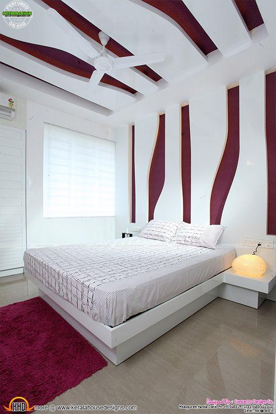 Bedroom after furnished
