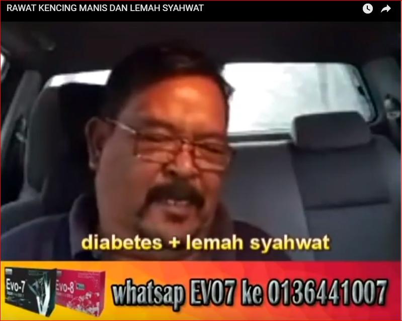 KLIK VIDEO PENGAKUAN DIABETES