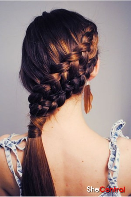 Fun Easy Hairstyles For School