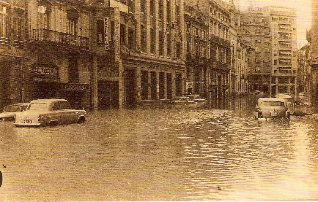 Resultado de imagen de riada valencia 1957