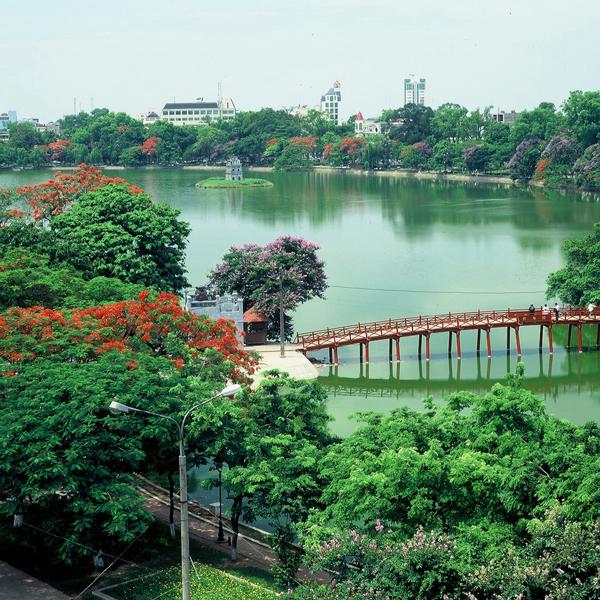 Hồ Hoàn Kiếm và Đền Ngọc Sơn