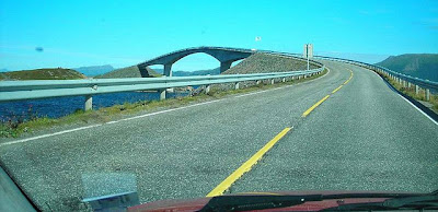Storseisundet Bridge Atlantic Road Norwegia