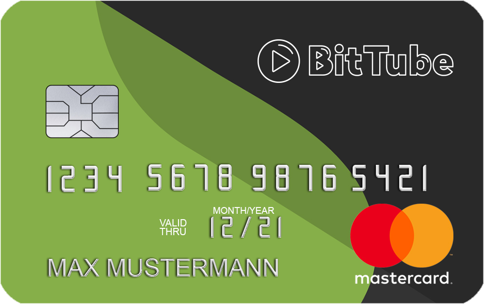 BitTube Debit Card
