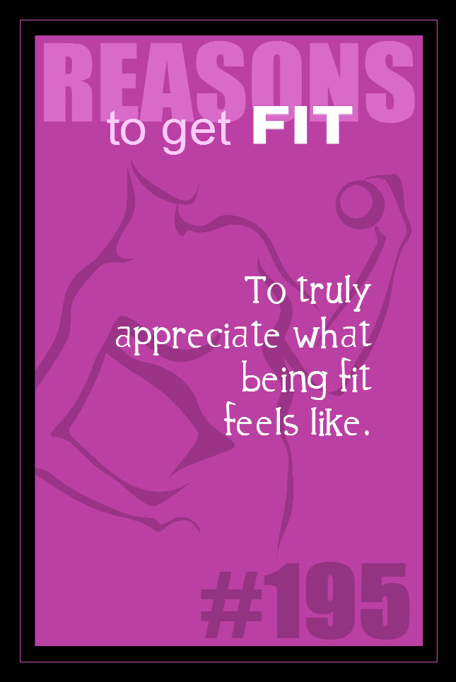 365 Reasons to Get Fit #195