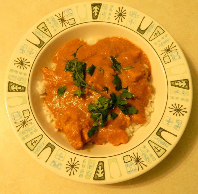 crock pot Indian curry chicken korma recipe Just Peachy, Darling