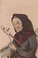 vieille femme fileuse