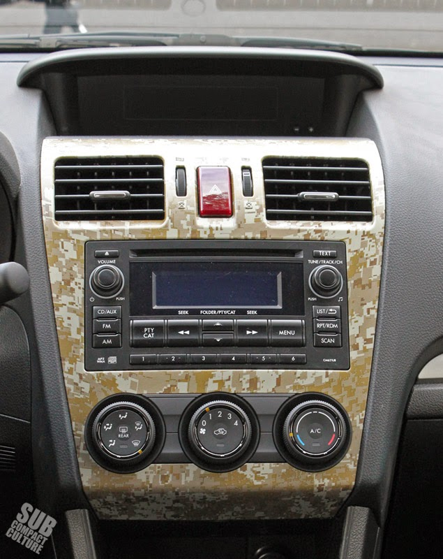 Camo radio bezel