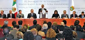 RINDE INFORME ANUAL PRESIDENTE DEL TRIBUNAL SUPERIOR DE JUSTICIA EN VERACRUZ