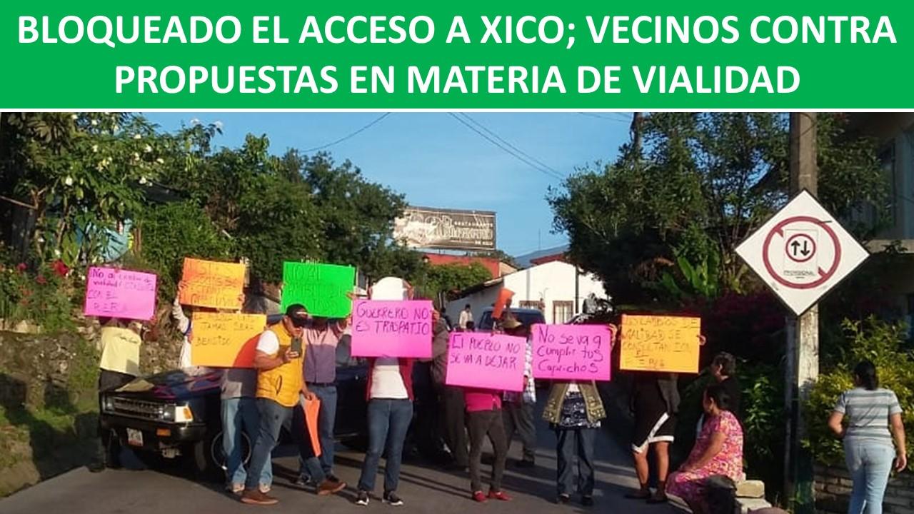 VECINOS CONTRA PROPUESTAS EN MATERIA DE VIALIDAD
