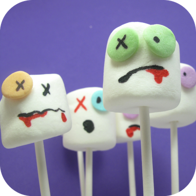 Zombie Party marshmallows