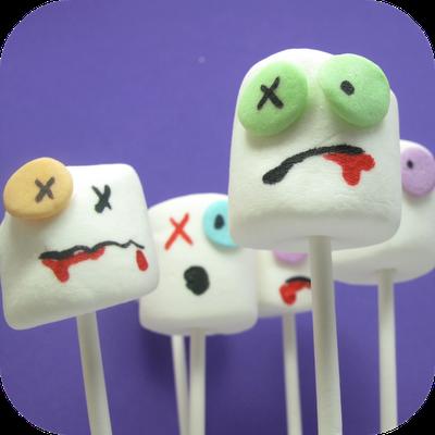 Zombie Party marshmallows