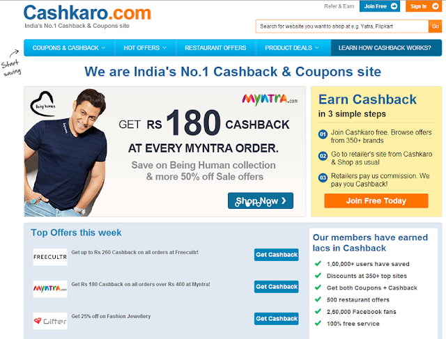 Cashkaro.com Review